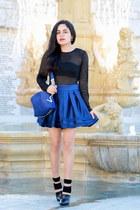 versace bag - Alexander Wang heels