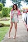 Beige-forever-21-shorts-pastel-kimono-stiles-clothing-cardigan