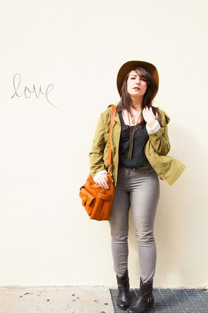 ModClothcom boots - Urban Outfitters jeans - Target hat - choiescom jacket