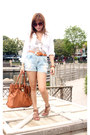 White-banana-republic-shirt-tawny-michael-kors-purse-light-blue-forever-21-s