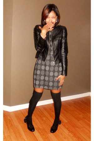 Forever 21 jacket - Ross dress - Target socks - Steve Madden shoes