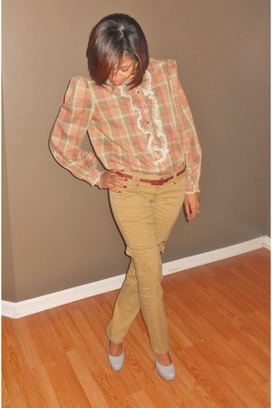 NoirOhioVintage shirt - TJ Maxx pants - Charlotte Russe belt - Guess shoes
