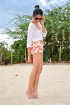 DIY swimwear - The Luxurious Girl shorts - Bedazzled Accessories accessories
