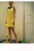 mini dress piper dress - bag - pointy heels zu heels