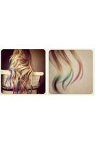 rainbow hair accessories
