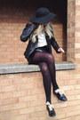 Black-floppy-hat-topshop-hat-black-shearling-primark-jacket