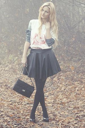 teal Sheinside blouse