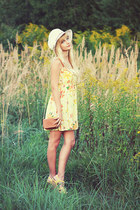 yellow Bershka dress