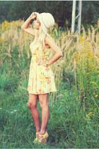 yellow Bershka dress