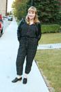 Black-leather-danier-leather-jacket-dark-gray-fischer-clothing-jumper