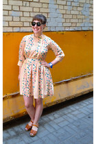 light pink silk lauren moffatt dress