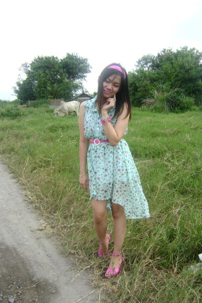 Girly Fashion dress - SM Accesories accessories - fila wedges