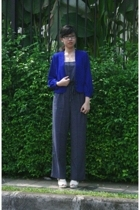thrifted blazer - thrifted suit - Forever21 shoes