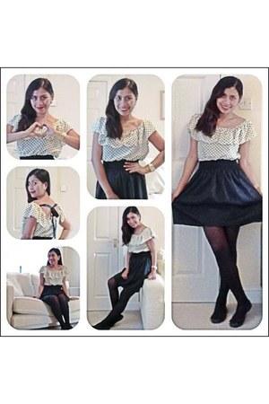 black EFDI dress