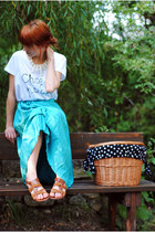 aquamarine Secondhand skirt