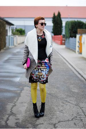 yellow romwe tights