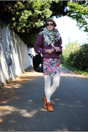 orange Marisha boots