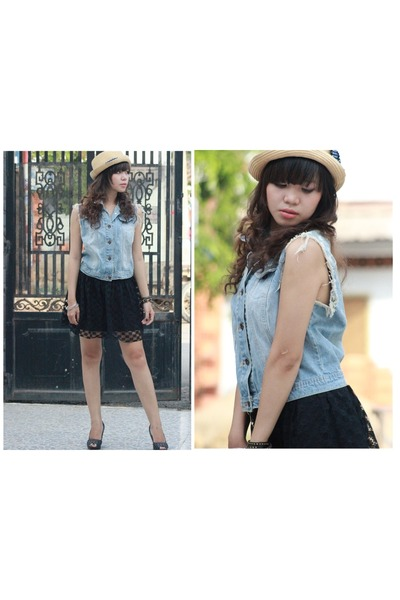 periwinkle denim shirt