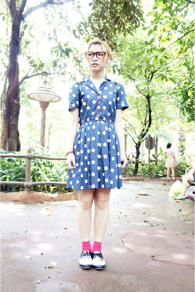 dtted denim Tasty dress