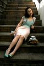 H-m-blazer-chiffon-oasis-dress