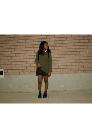 black creepers suede Call it Spring shoes - army green Marks s shirt