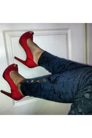 Zara pants - Stradivarius heels