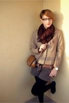jacket - scarf - bag