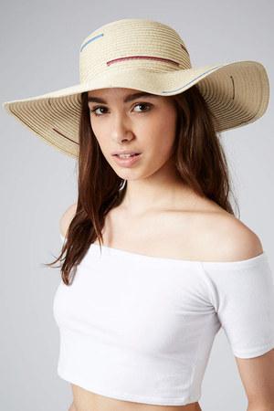 mustard Topshop hat - coral Topshop shirt - off white satchel Topshop bag