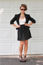 Old Navy blazer - f21 dress - GoJane shoes