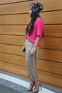 H-m-hat-h-m-pants-vintage-top-zara-heels
