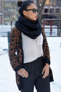 Aldo-shoes-fcuk-scarf-zara-pants-silence-and-noise-top-zara-cardigan