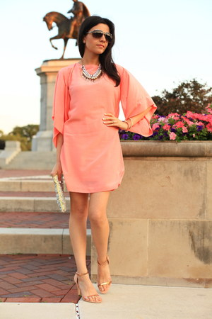 light pink pink Zara dress