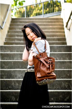 Aldoexander Wang bag - H&M top