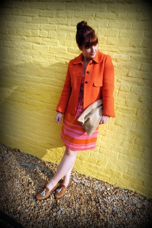 kate spade dress - banana republic jacket - American Apparel bag - Steve Madden