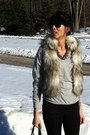 Yin-boots-coach-bag-rayban-sunglasses-jcrew-necklace-wilfred-top-ann-t