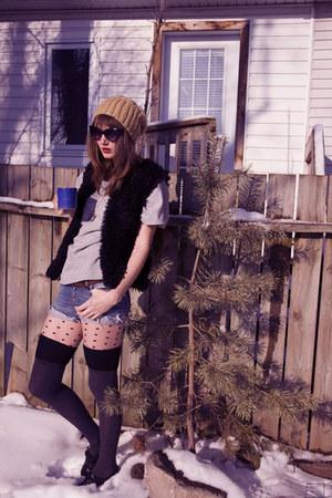 blue Miss Sixty shorts