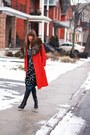 Black-aldo-boots-ruby-red-vintage-coat