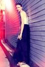 Maroon-ysl-purse-black-zara-skirt-white-jacob-top-tawny-scarpasa-sandals