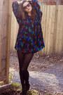 Black-wilfred-shorts-black-chloe-blouse-black-zara-boots