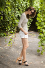 Mustard-nine-west-shoes-white-club-monaco-shorts