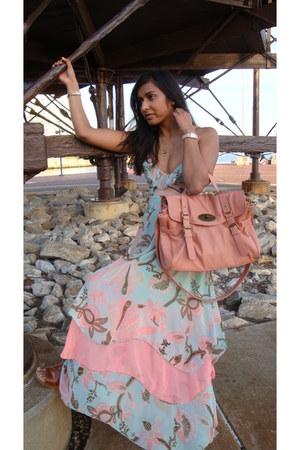 H&M dress - iam bag - Realities watch