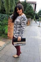 Zara jeans - Mango jumper
