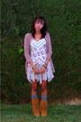 Bronze-sam-edelman-boots-periwinkle-free-people-dress