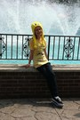 Navy-bling-7-for-all-mankind-jeans-yellow-tweety-bird-six-flags-hat