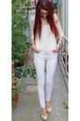 White-pants-zara-pants
