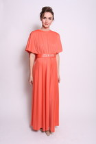 coral chicshopca Vintage dress