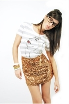 hardcore t-shirt - skirt