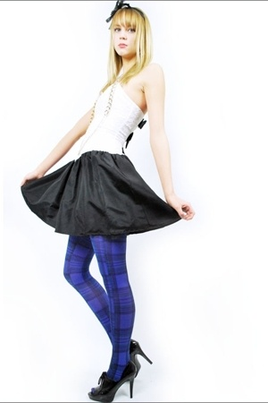 dress - forever 21 tights - forever 21 accessories
