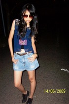 made by chintya blouse - ambasador top - made by chintya necklace - remake by ch