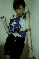 nitz shirt - remake by chintyaa shorts - made by chintya necklace - Zara socks -